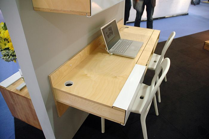17 Images About Wall Mounted Desks On Pinterest Wall