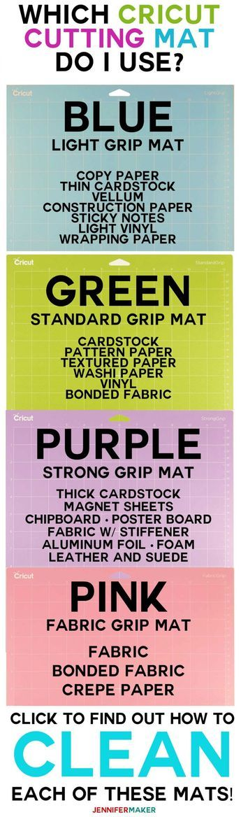 51de687c18e1db7fb21d77d70711a9b6 Cricut Cutting Mats: Get Sticky For Success! | Which Mat to Use for Which Projec...