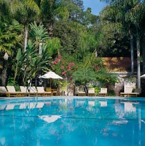 One of my favorite hotels ever..The Hotel Bel-Air in Los Angeles, CA.