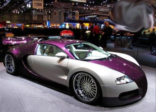 Colour Combi Purple And Matte Black Bugatti You Can Do