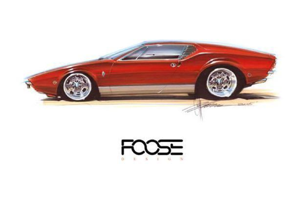 Chip Foose Pantera Revealed at SEMA 2015 in Las Vegas Photo & Image Gallery