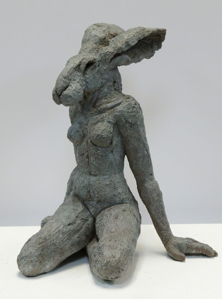 Sophie Ryder, 'Siting Lady Hare', 2001