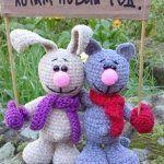 Вязание игрушек на спицах и крючком, схемы и описание / КлуКлу. Рукоделие - бисероплетение, квиллинг, вышивка крестом, вязание