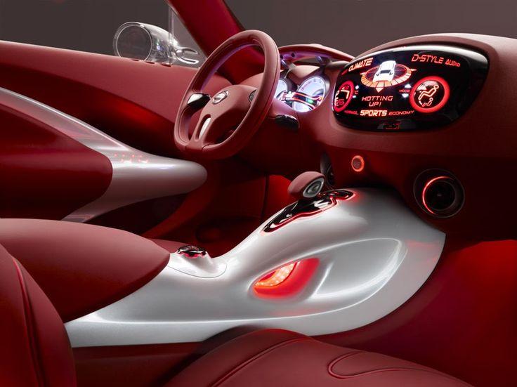 Nissan Qazana, futuristic dashboard, future car, concept, futuristic interior, futuristic car
