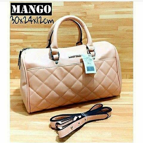 Mango Quillted Panel Bag IDR 280,000