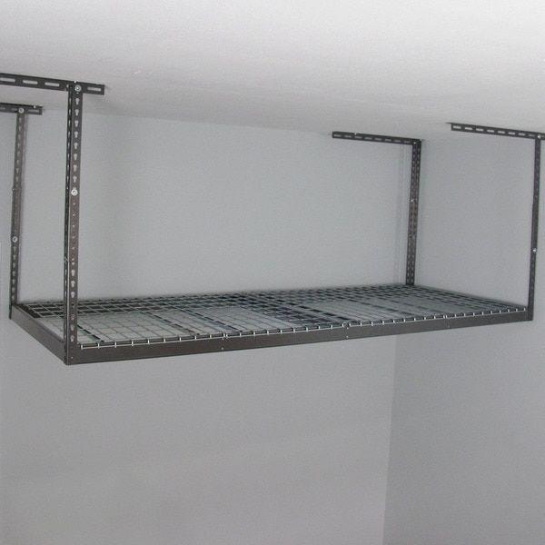 Diy Overhead Garage Shelf: 1000+ Ideas About Overhead Garage Storage On Pinterest