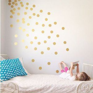 gold dots walls - Google Search                                                                                                                                                     More
