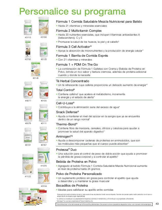 2014 Herbalife Libro de Presentación