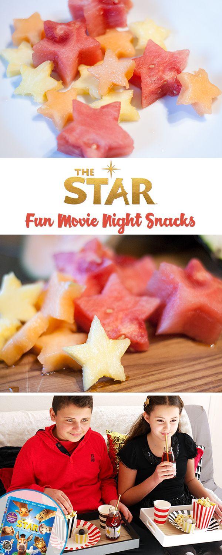 Fun movie night snack ideas for the family! #TheStarMovie
