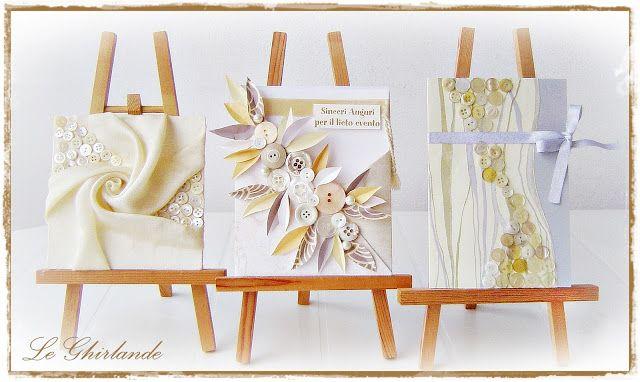 Le Ghirlande: Wedding cards handmade