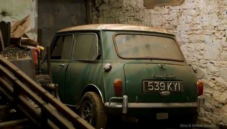 """Found in a barn in Ireland , a 1964 Downton Cooper that featured on Channel 4s """"For the love of cars"""" restoration series."""
