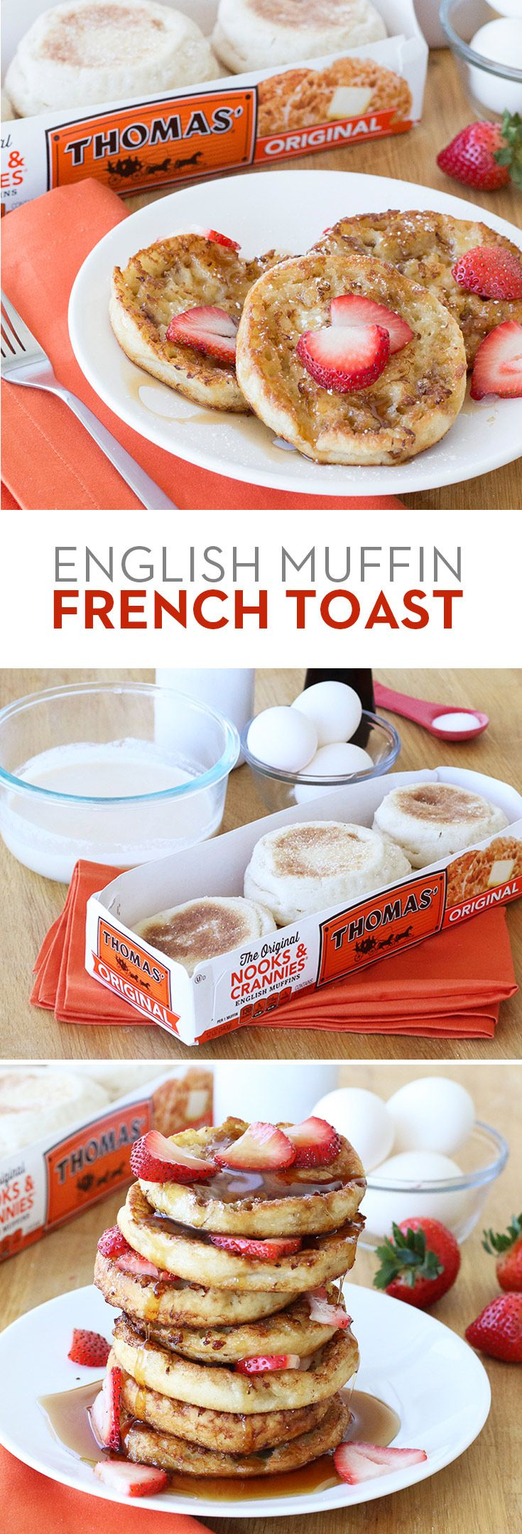 English Muffin French Toast: You Haven't Had French Toast Until You've