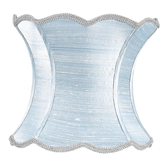 100 best lamp shades images on pinterest extra large lamp shades x large lamp shade scallop hourglass ice blue aloadofball Gallery