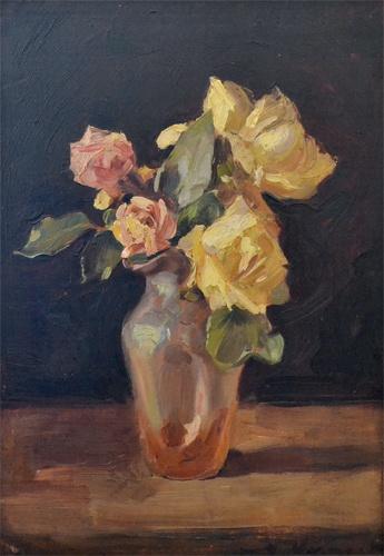 Nicolae Vermont - Vas cu trandafiri