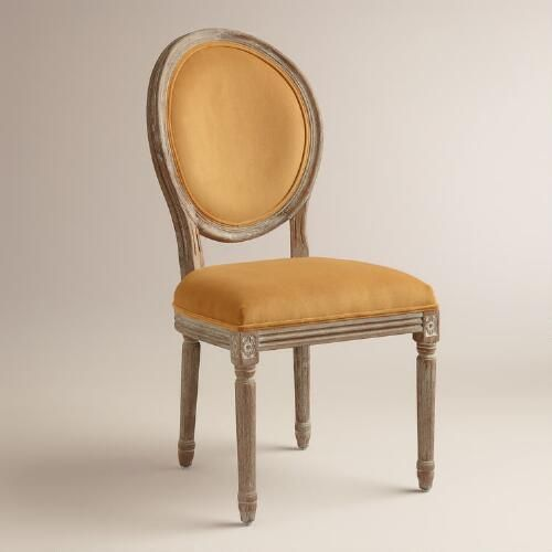 One of my favorite discoveries at WorldMarket.com: Topaz Paige Round Back Dining Chairs, Set of 2