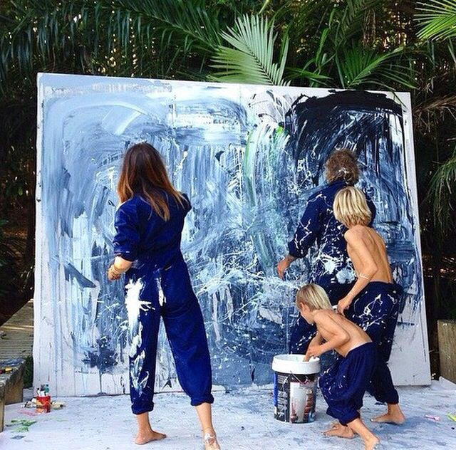 How art should be created. I wanna do the exact same with my kids when I grow up!