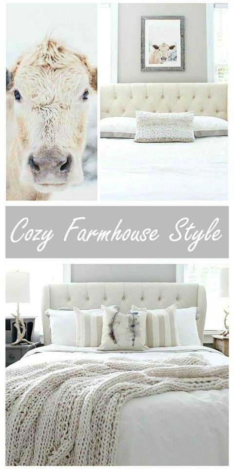 Beautiful cozy farmhouse style at refreshrestyle.com
