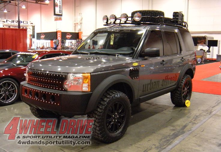 offroad land rover | 2009 Sema Show Urban Offroad Land Rover Lr3 Photo 82