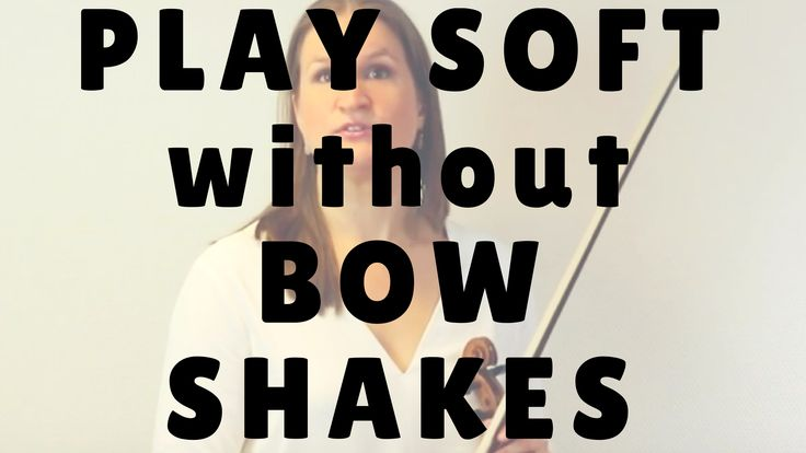 The root cause of the shaky bow problem can be a couple of different things. This video explains four possible causes and how to solve your specific problem. After this video you can play soft with a beautiful tone and without bow shakes.