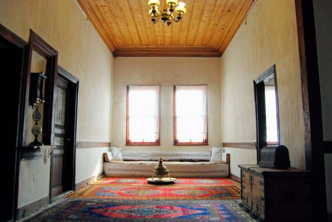 The interior of an old Ottoman house