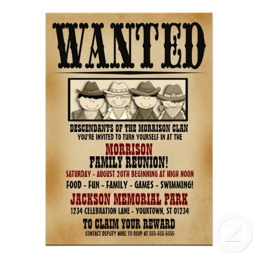 573 best Invitations images on Pinterest Houston, Creativity and - create a wanted poster free