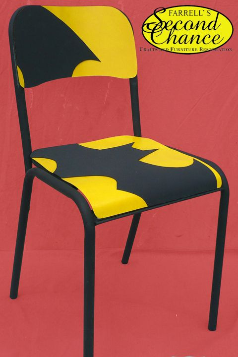 Batman Painted Kids Chair\   Google Search