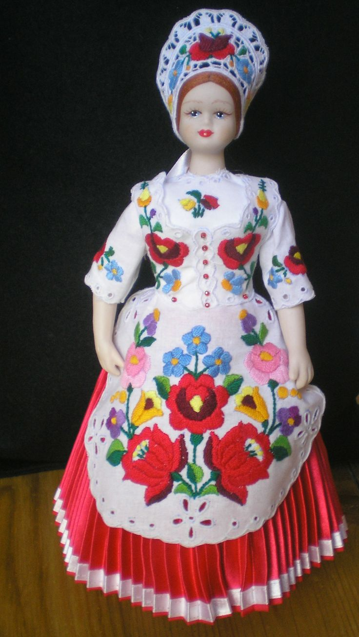 China doll from Kalocsa, Hungary <3 :)