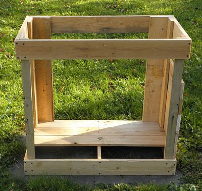 kitchen cabinet from pallets