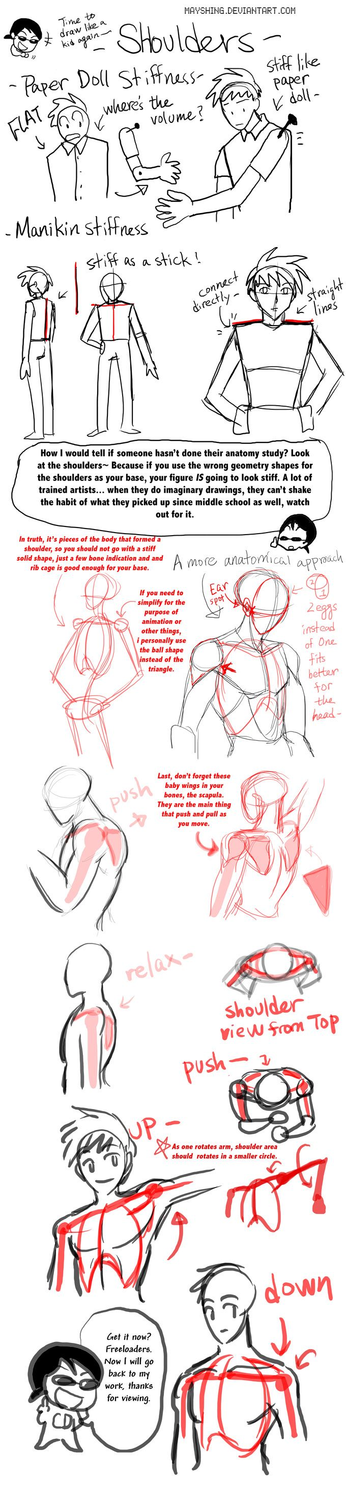 CDs quick Shoulder tutorial by mayshing.deviantart.com on @deviantART