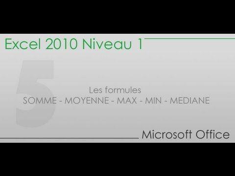 Formation Excel - Partie 1 - Présentation de la formation et du logiciel - YouTube
