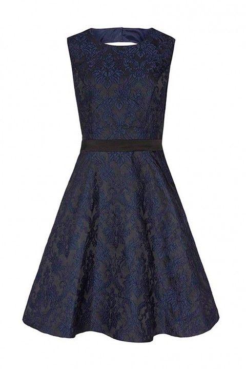 Reiss Natalie Blu Dress, £198 - Winter Wedding Guest Dresses - Wedding Guest Dresses - Wedding Guest Outfits