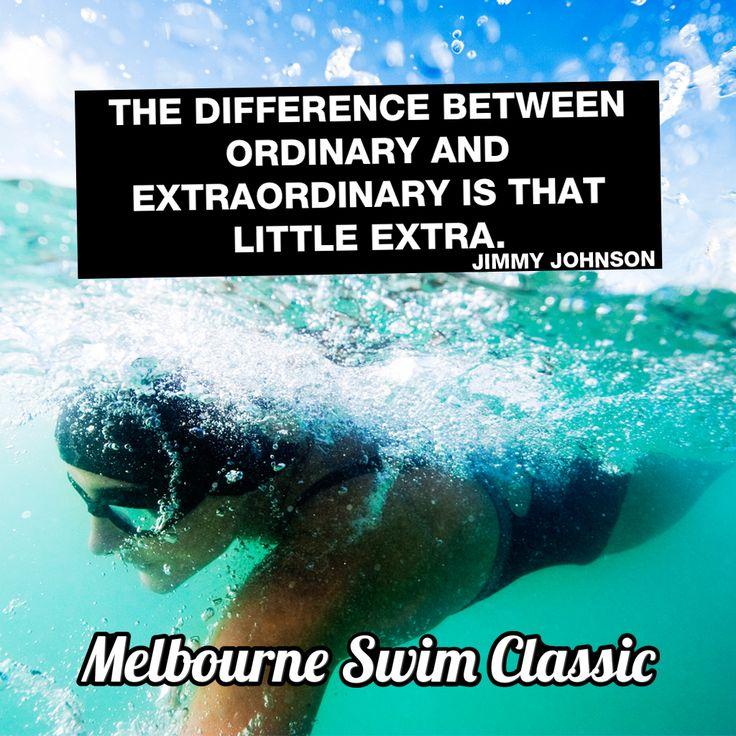 #swimspirational www.melbourneswimclassic.com.au