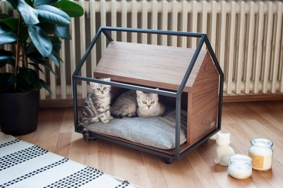 Cage Cat Or Little Dog Cave Bed Furniture Dog Cave Pet