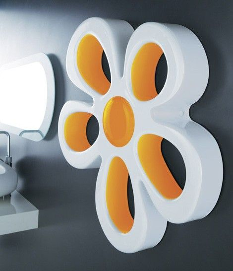 A Flower Lamp For Your Bathroom Accessories