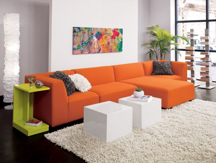 I Love My Orange Sofa!