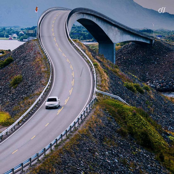 The Storseisundet Bridge In Norway Is So Dramatically