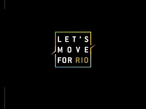 Download the Technogym app to help donate gym equipment to Rio's deprived communities.  #letsmoveforrio