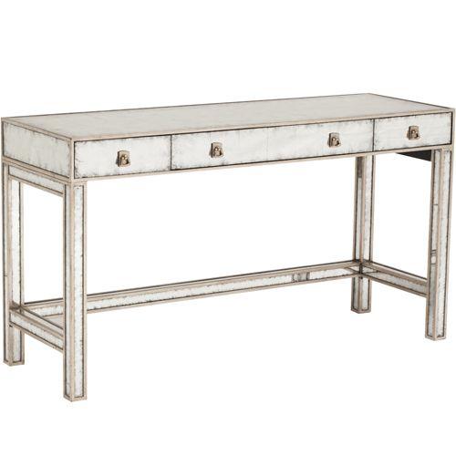 Eglomise Mirrored Vanity Table* $1,399.00