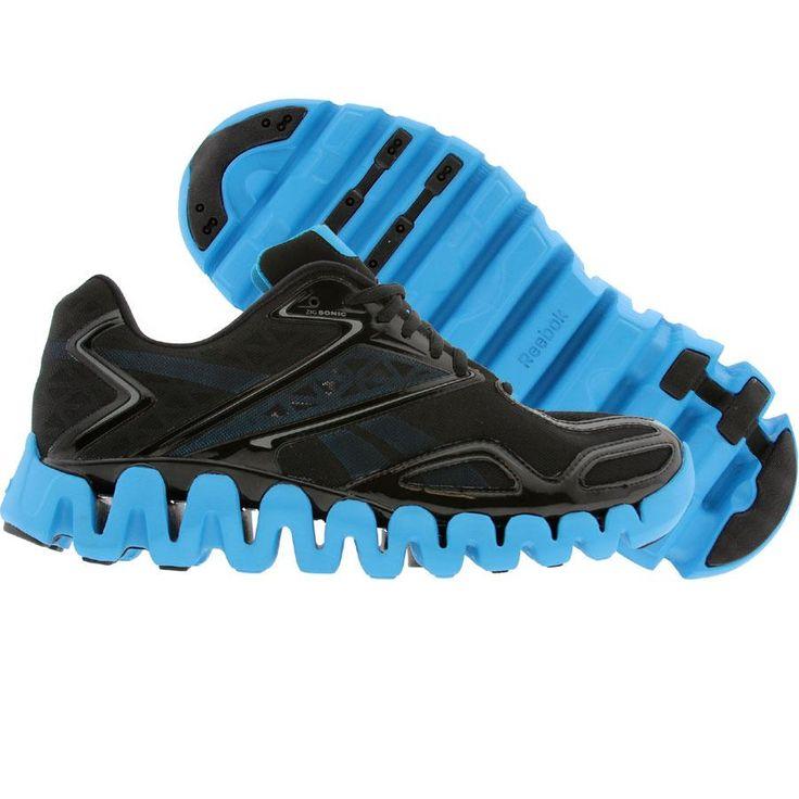 Black Reebok Zigtech Shoes