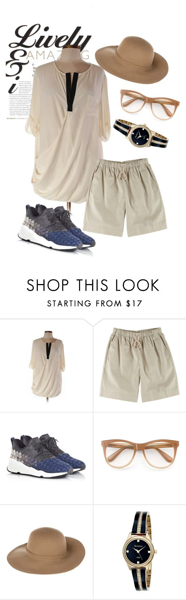 """""""hat"""" by masayuki4499 ❤ liked on Polyvore featuring ASOS, Coral Bay, Ash, Wildfox, Armani Jeans and Armitron"""