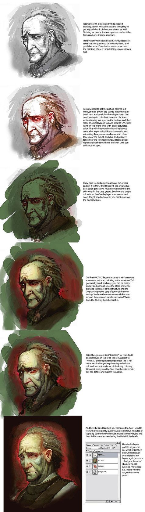 Character Design Digital Painting Tutorial : Best images about tutorials digital painting on