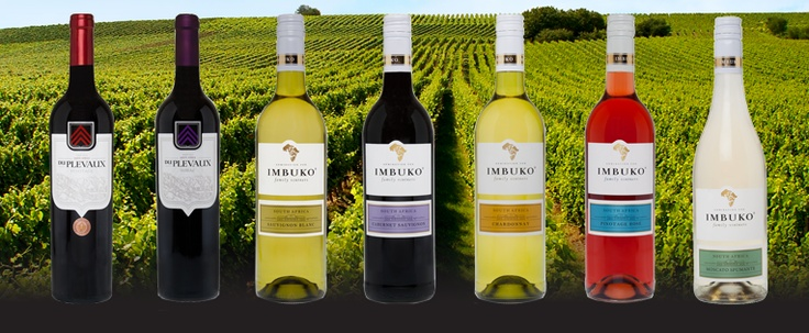 Imbuko range of wines