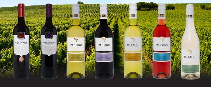 Imbuko range of wines