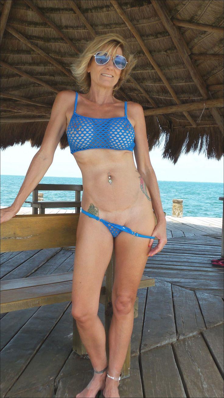 Matures Pleasure  Photo  Bikinis, High Neck Bikinis -4095