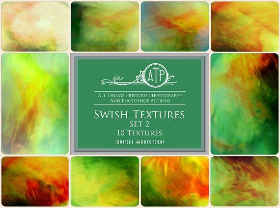 Fine Art Digital SWISH Textures  SET 2