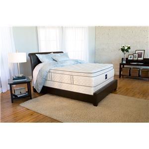 Queen Super Pillow Top Mattress by Serta! $799.95