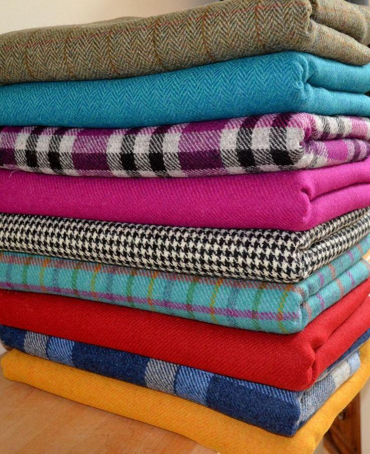 Harris Tweed Fabric Labels Tartan 100 Wool Craft Herringbone Sewing Quilting