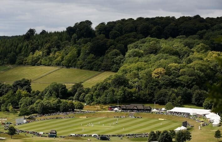 1 of the best pictures taken of @WormsleyCricket courtesy of @ECB_cricket #womensashes