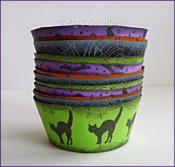 Bettys-creations: Cupcake-Förmchen
