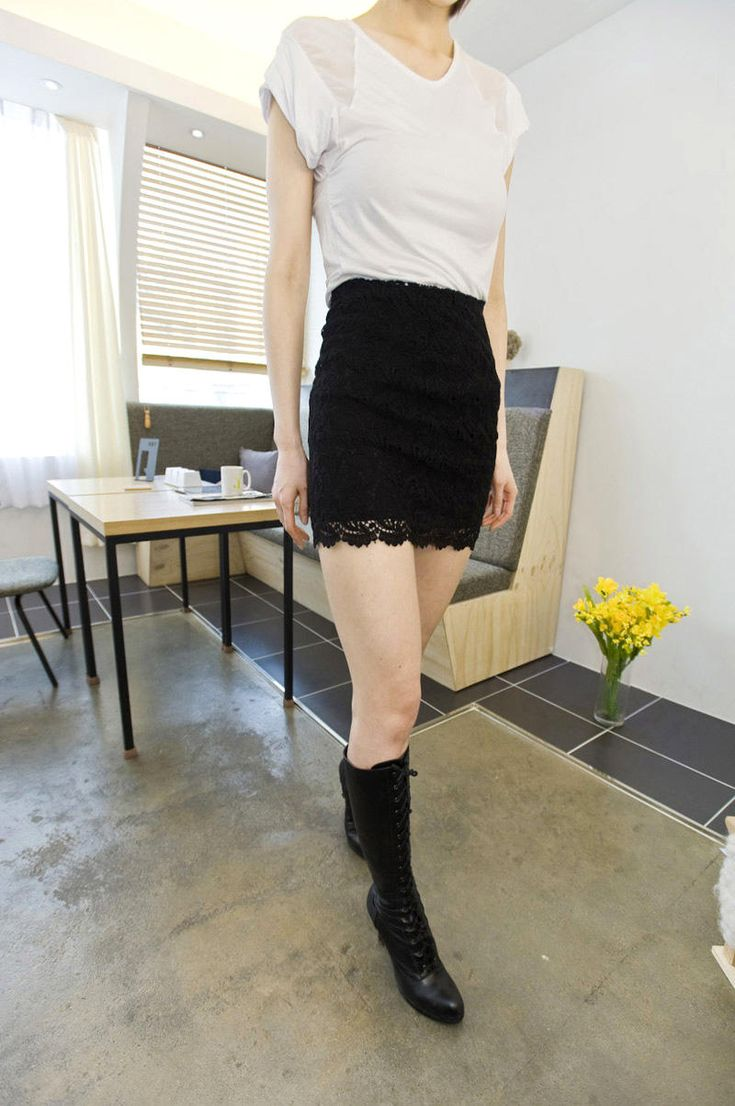 mini lace skirt from Kakuu Basic. Saved to Kakuu Basic Skirts. Shop more products from Kakuu Basic on Wanelo.